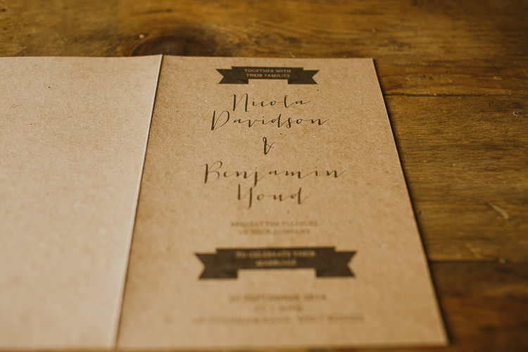 Natural Wedding Invitations 14