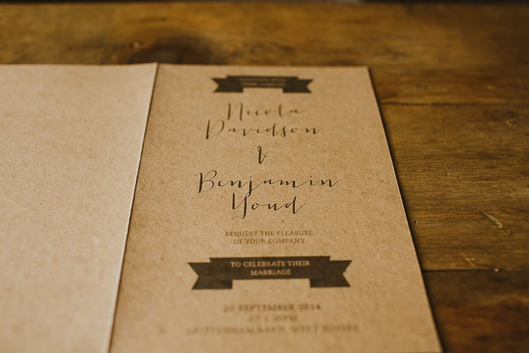 Natural Wedding Invitations 15