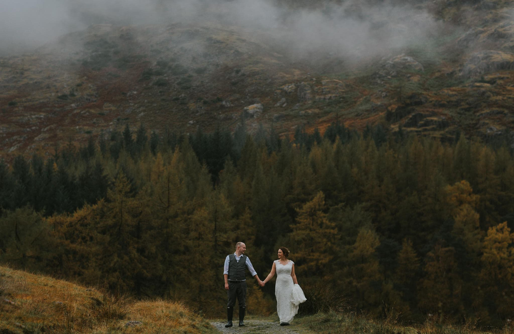 Fine Art Wedding Photographer The Lake District and South Wales 23