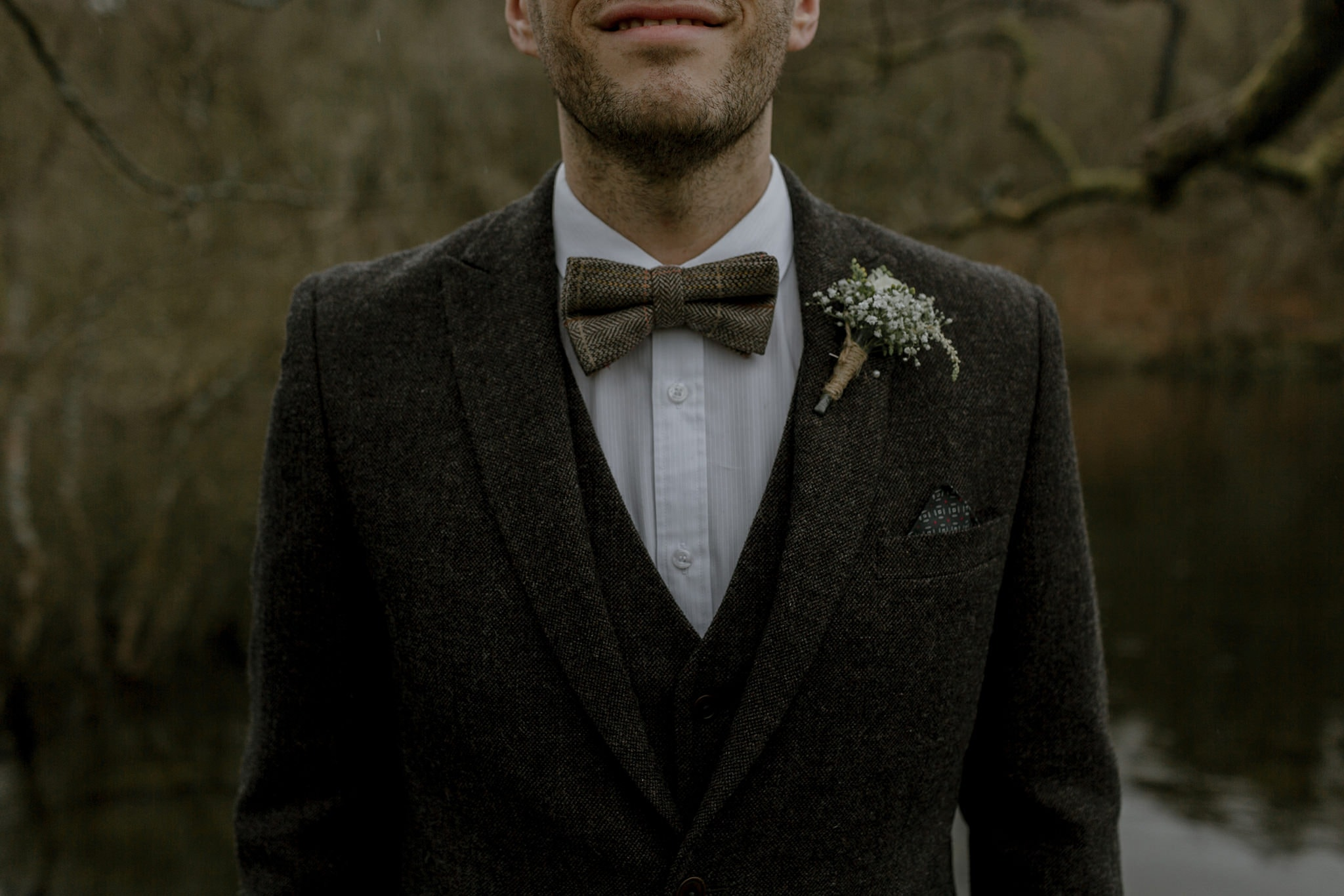 bow tie lake district alternative wedding