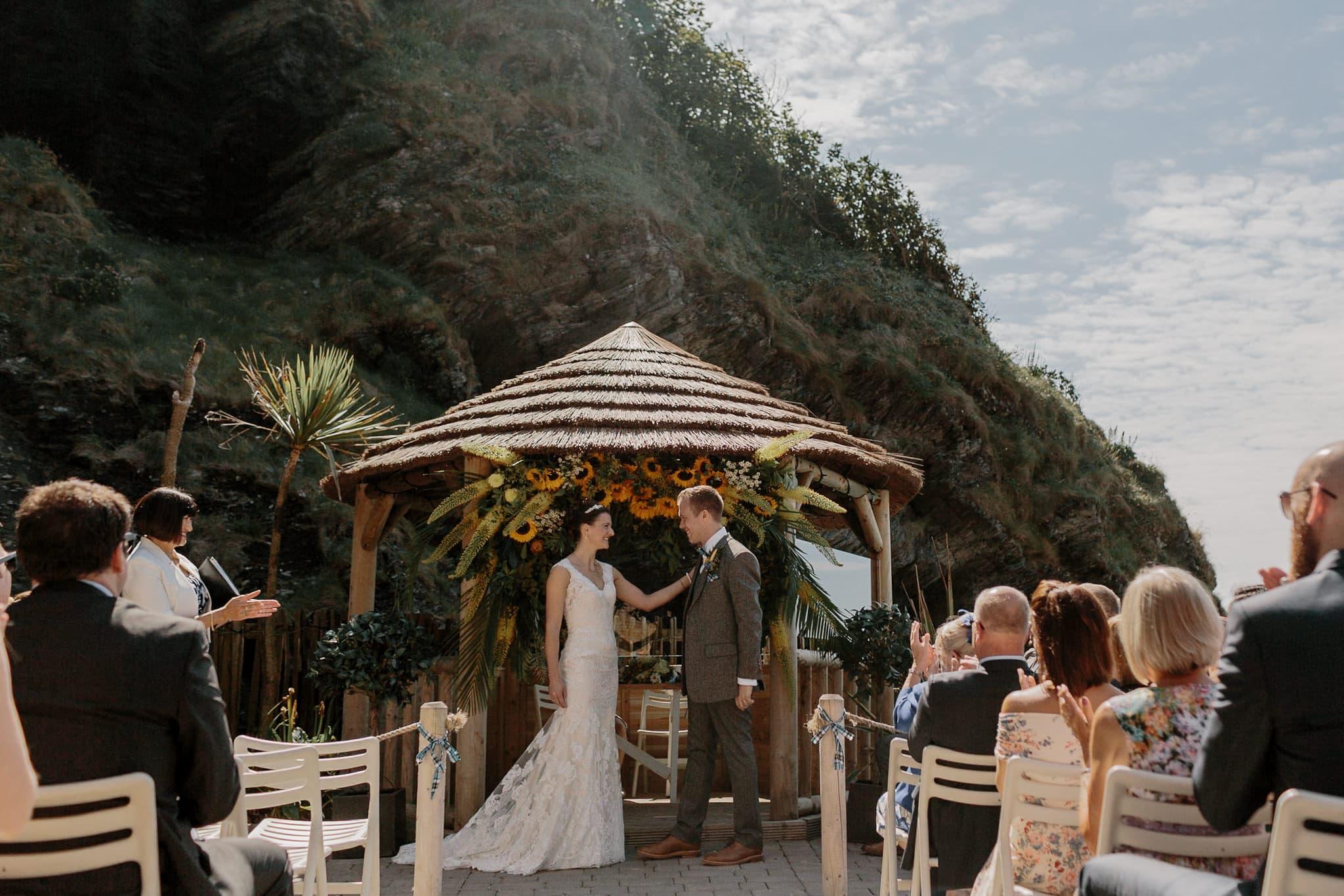 Tunnels Beaches Devon Wedding Photographer 46