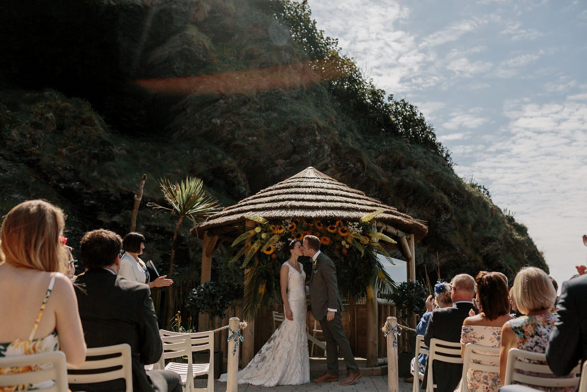 Tunnels Beaches Devon Wedding Photographer 47
