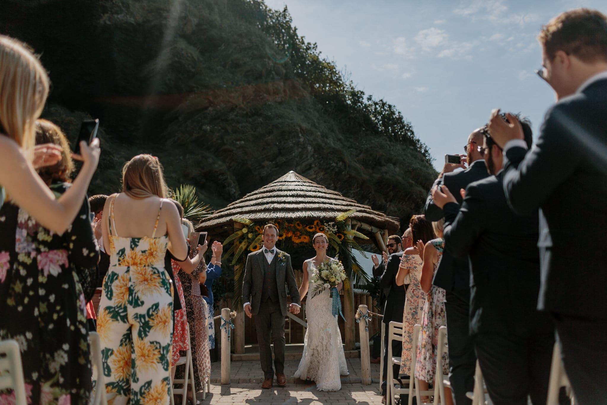 Tunnels Beaches Devon Wedding Photographer 51