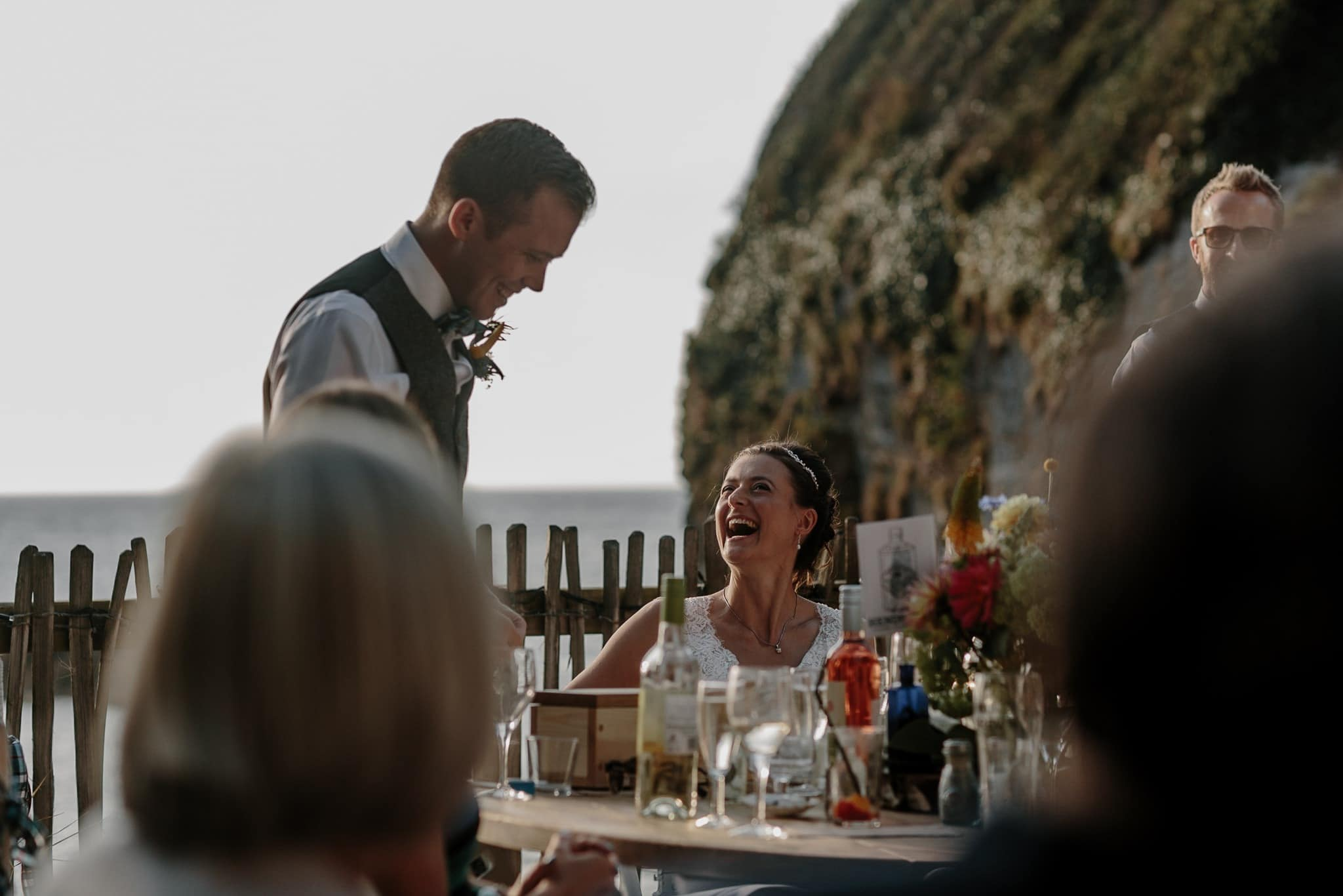 Tunnels Beaches Devon Wedding Photographer 70