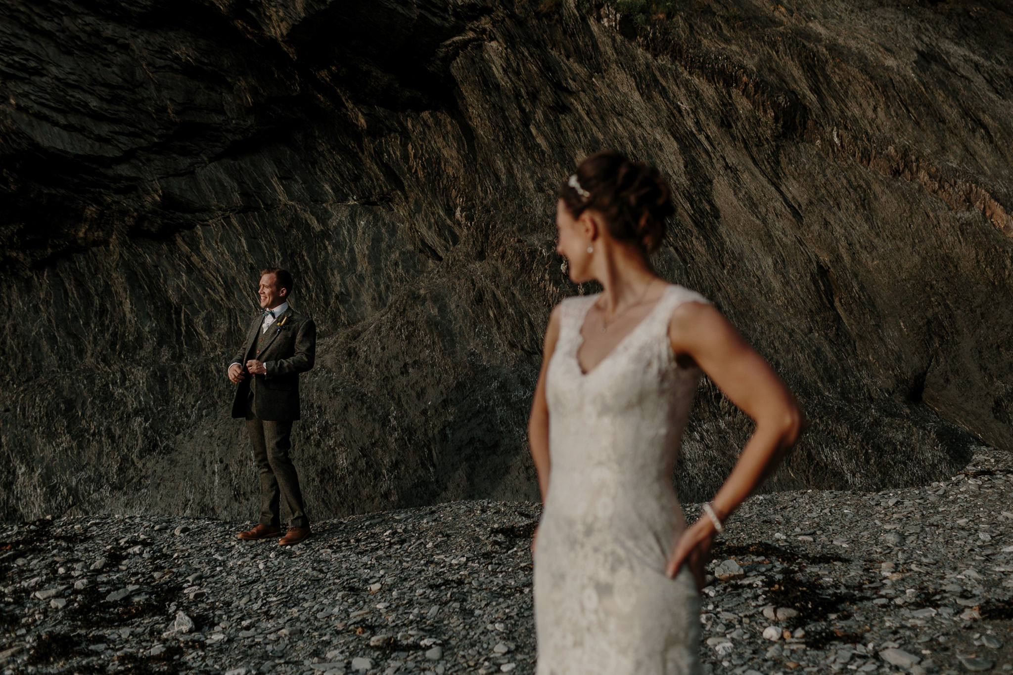 Tunnels Beaches Devon Wedding Photographer 74