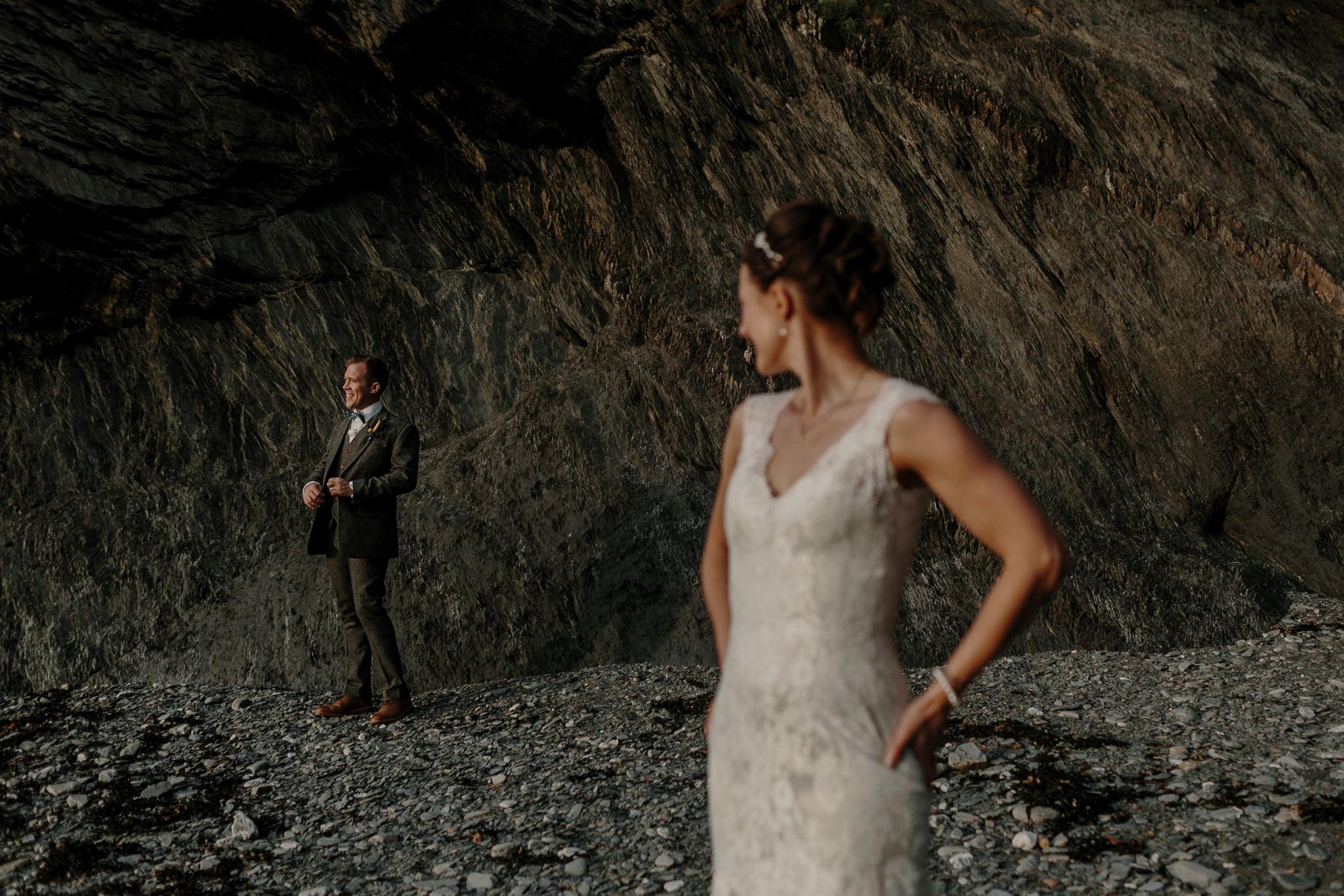 Tunnels Beaches Devon Wedding Photographer 74