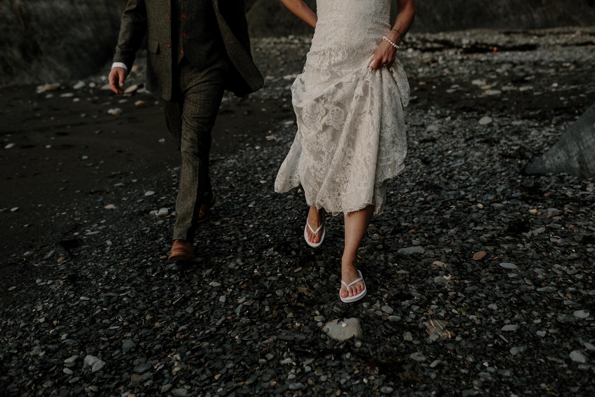 Tunnels Beaches Devon Wedding Photographer 80
