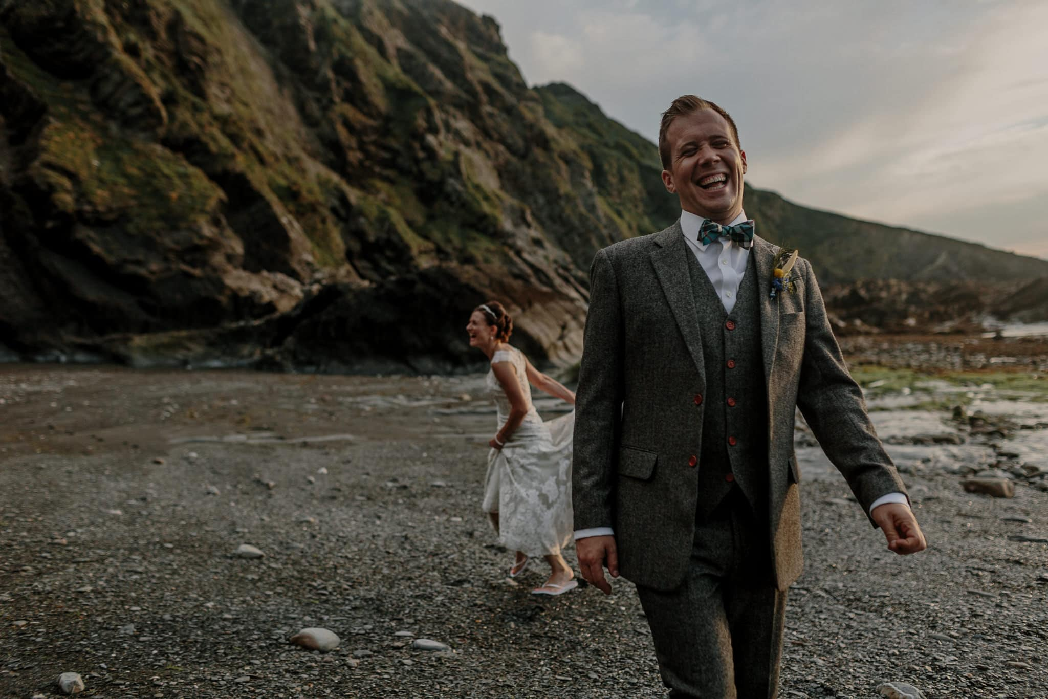 Tunnels Beaches Devon Wedding Photographer 81