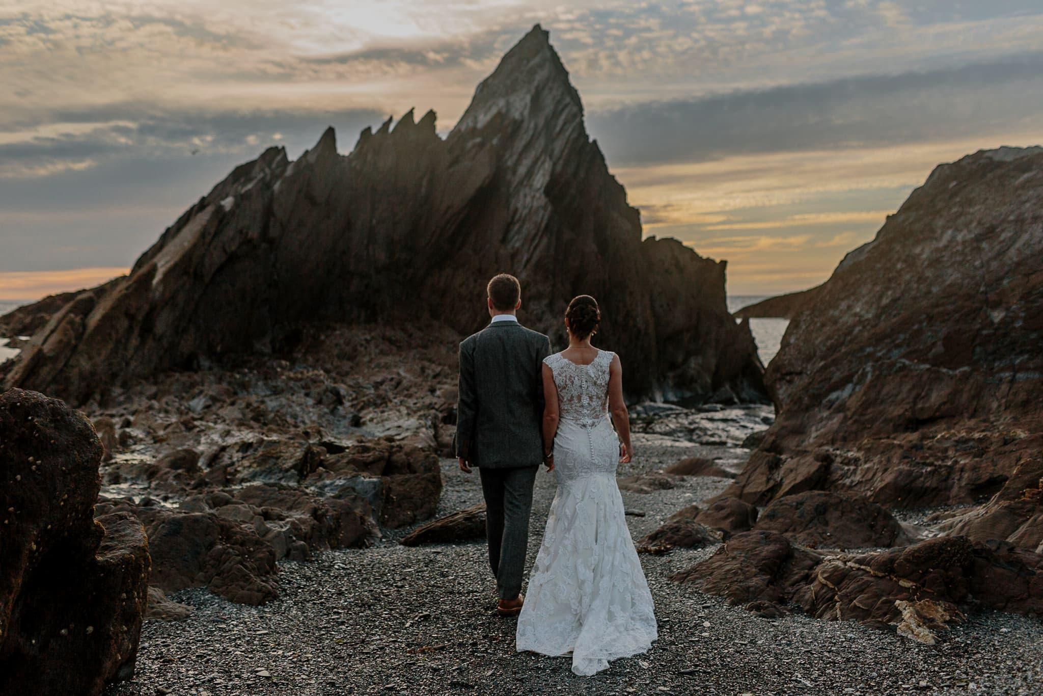 Tunnels Beaches Devon Wedding Photographer 86