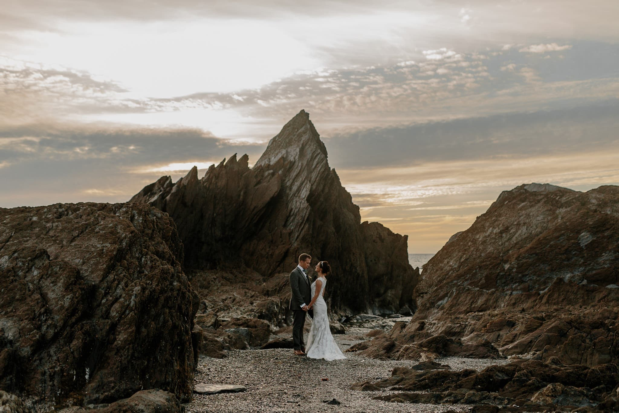 Tunnels Beaches Devon Wedding Photographer 87