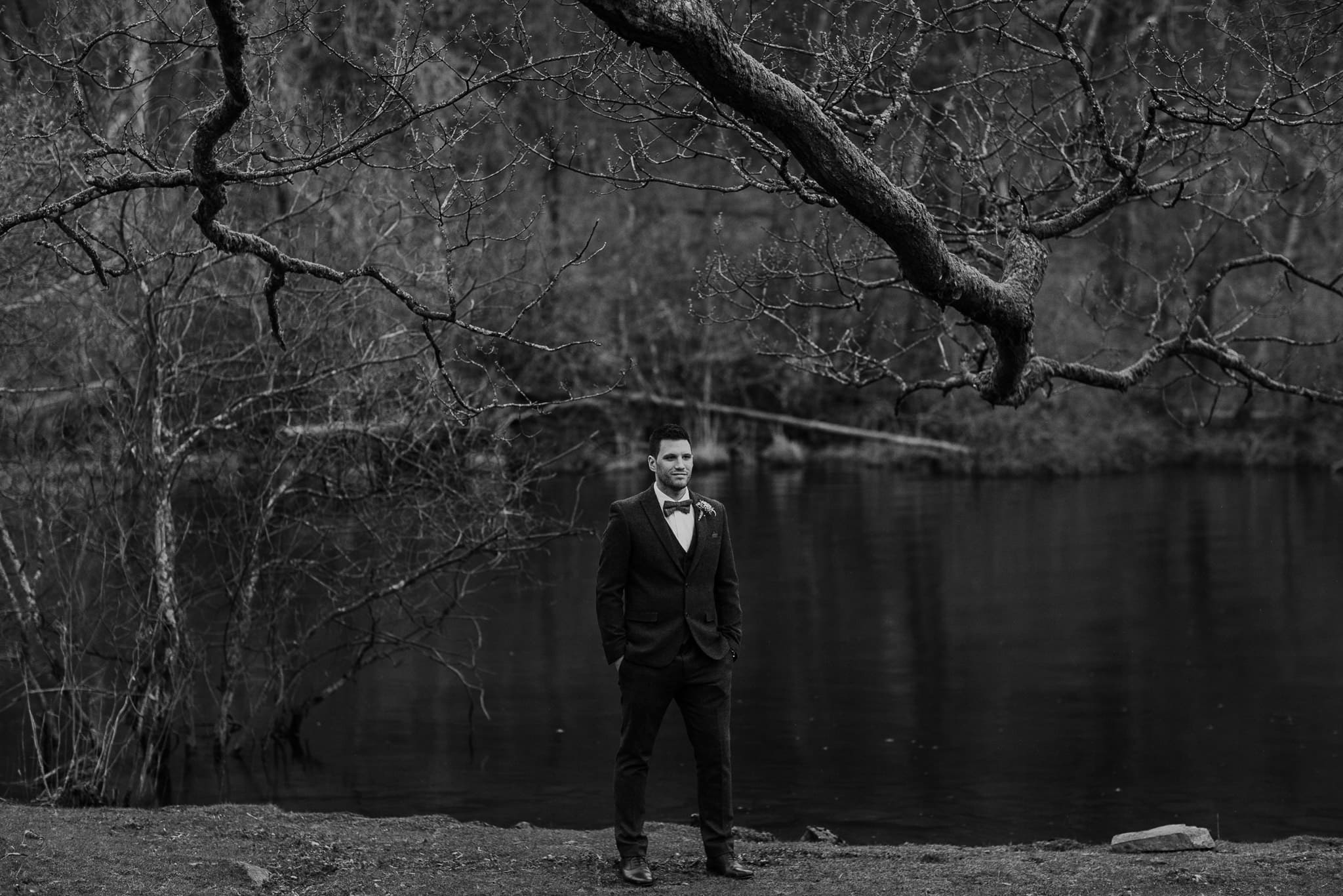 The Groom by Lake Windermere