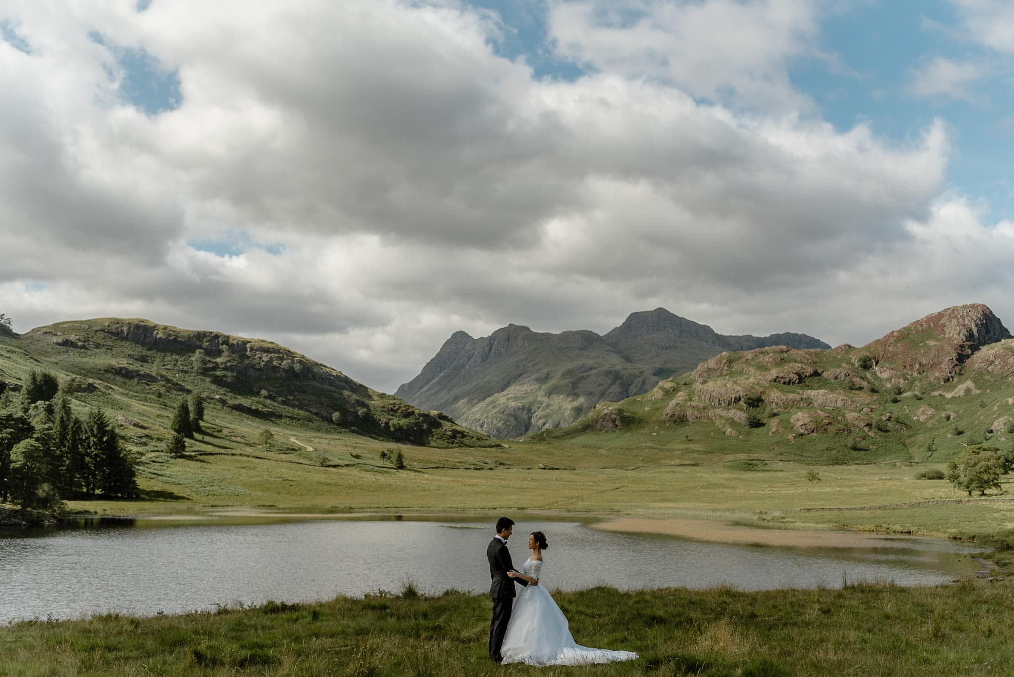 Elopement Couple in the Lake District