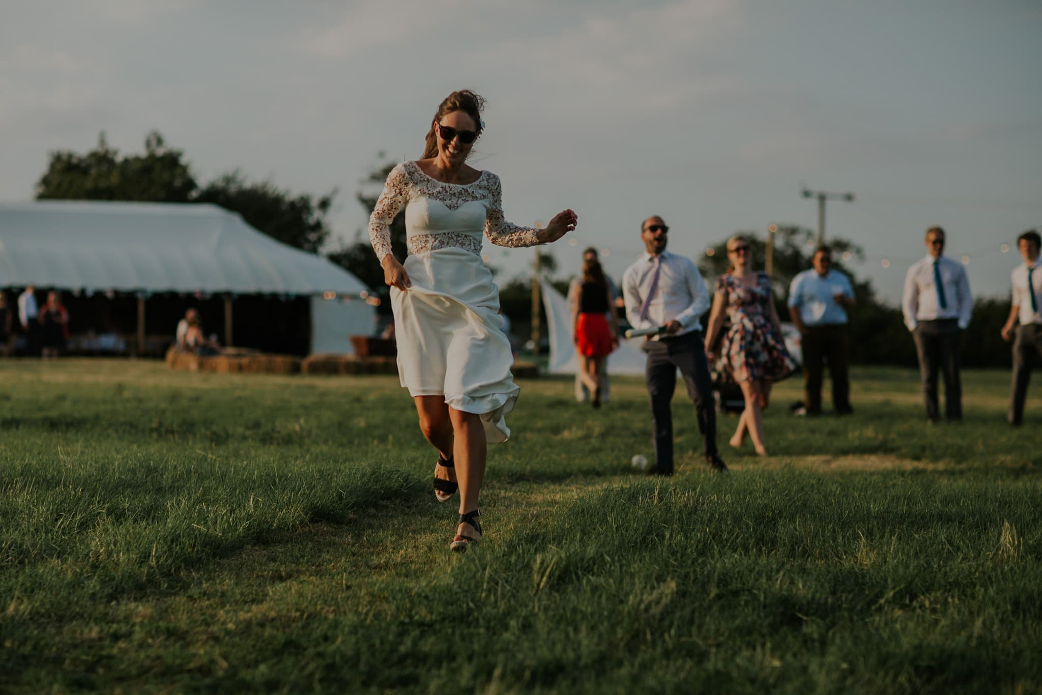 Festival Wedding In South Wales