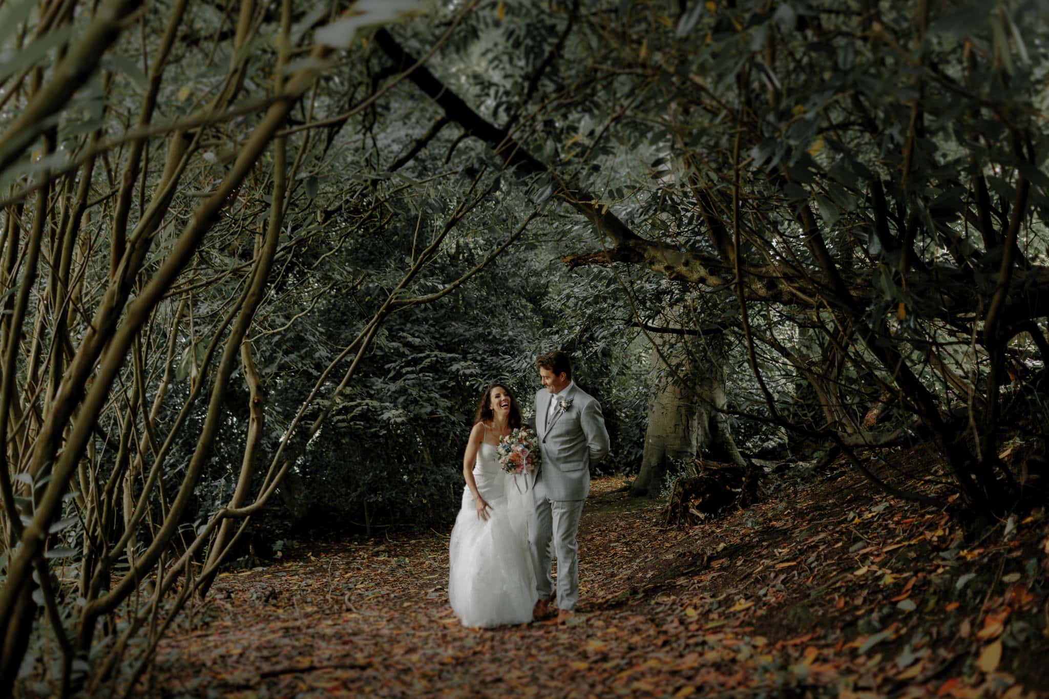 Outdoor Wales Wedding Photographer