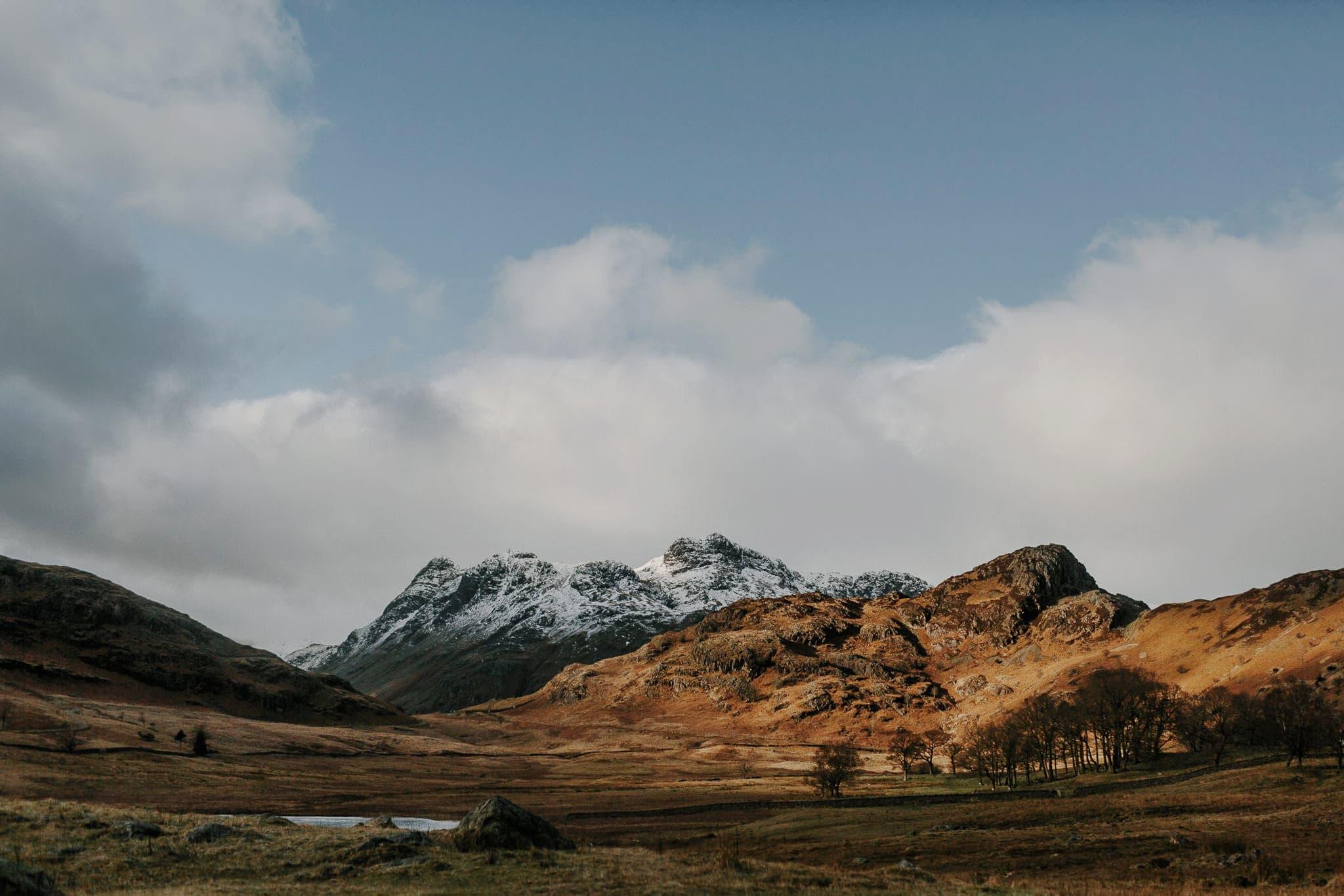 Blea Tarn mountain views