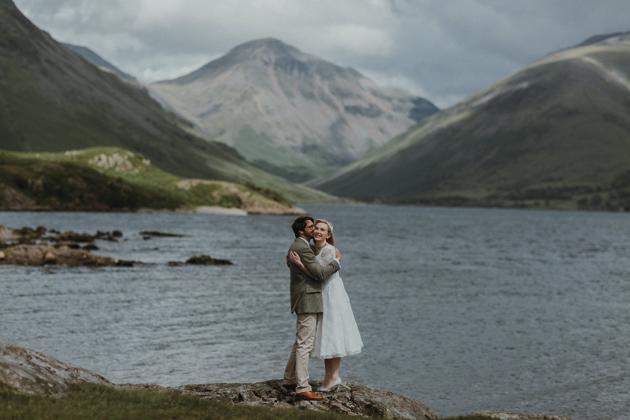 Bride and Groom at Wasdale