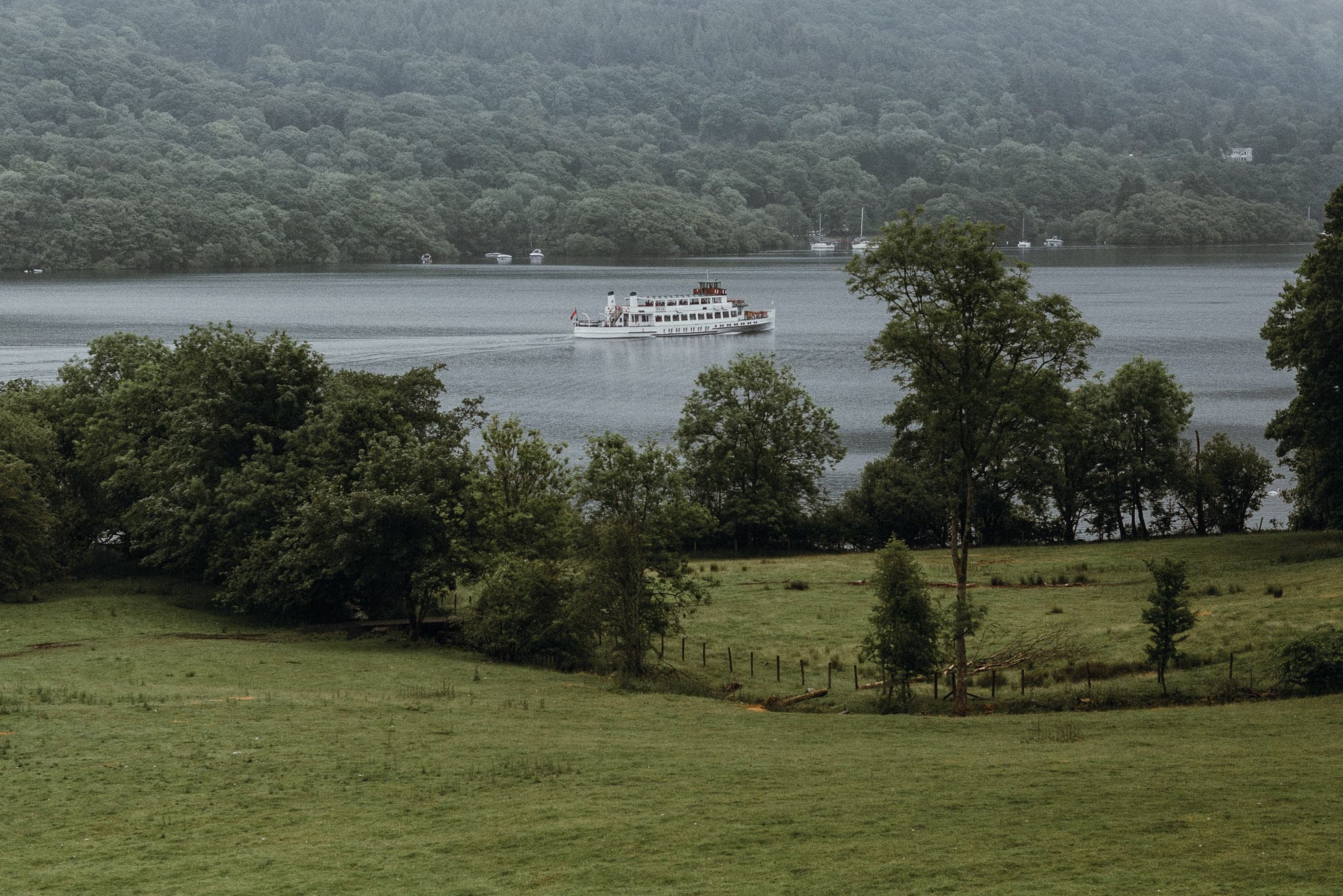 Ferry Boat on Lake Windermere