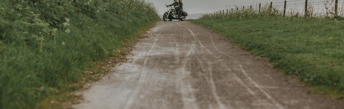Harley Davidson Engagement Shoot in Brighton