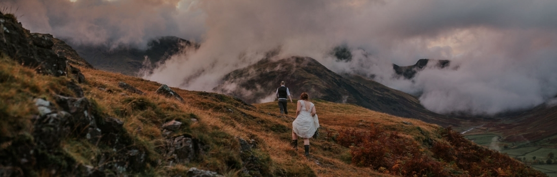 Alternative Wedding Photography in the Lake District