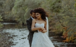 Hidden River Cabins Lake District Wedding Photographer