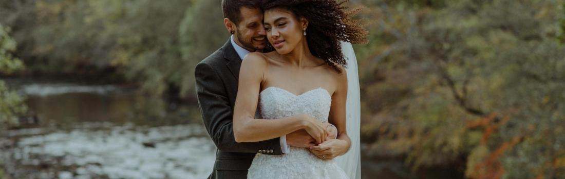 Hidden River Cabins Lake District Wedding Photographer