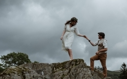 Lake District Elopement at Loughrigg Cottage in Ambleside