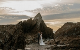 Tunnels Beaches Wedding in Ilfracomb Devon