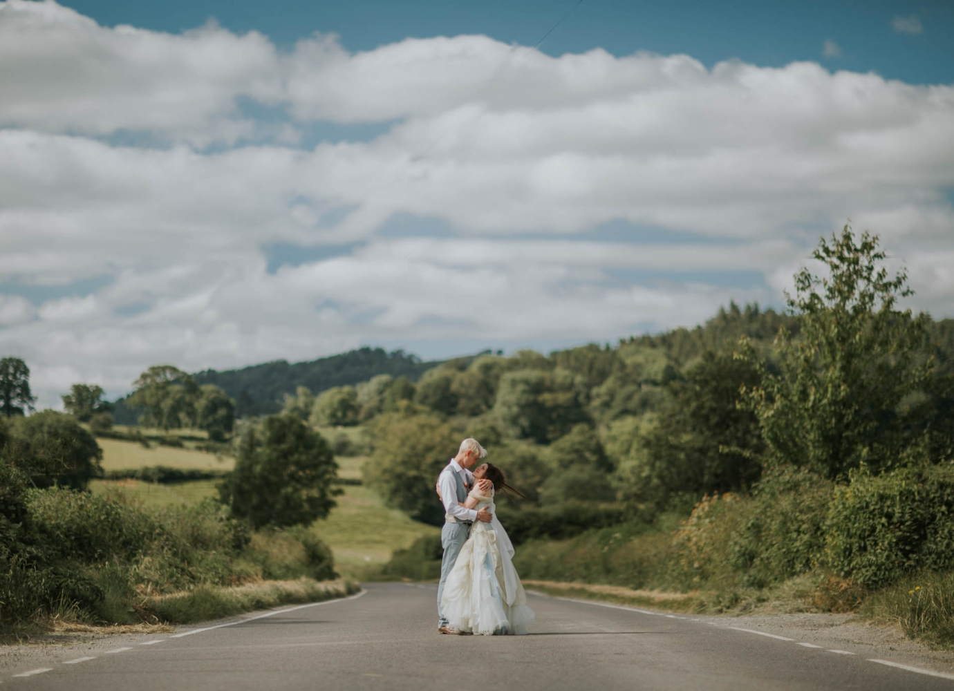 Mid Wales Natural Wedding Photographer
