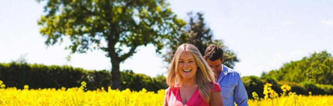 Hayley and Iain Engagement Shoot | Malpas in Cheshire